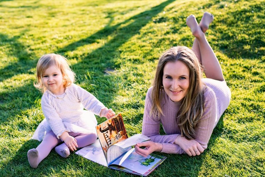 Michaela Ray de Witters s dcérou